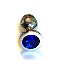 Jewel Buttplug - Large Blue