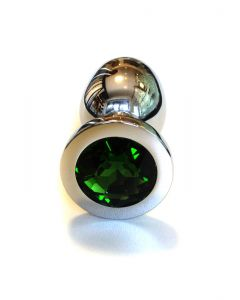 Jewel Buttplug Large Green