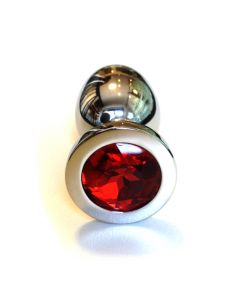 Jewel Buttplug - Large Red