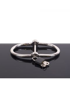 D-Handcuffs - Stainless Steel