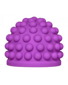 Purple Massage Bumps Silicone Attachment