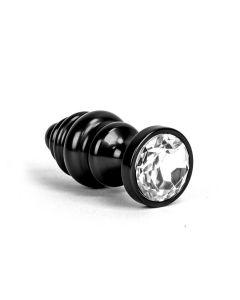 Aluminum Alloy Anal Plug 1 - Black