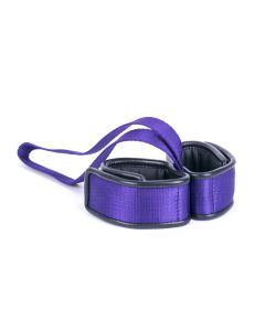 Kiotos Deluxe - Handcuffs Double with Handle - Purple