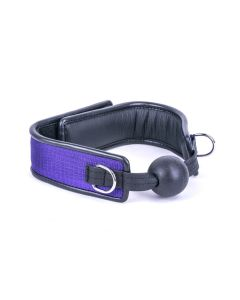 Kiotos Deluxe - Ball Gag - Purple
