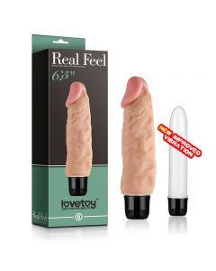 Real Feel - Realistic Dildo Vibrator 1006