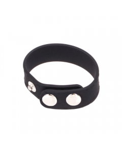 Silicone C-RING Tri-Button Wide