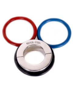 Ball Stretcher 45 mm - With 3 Rubber Rings (Black, Red & Blue)