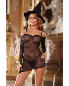 Costume Naughty Witch 3pc Set