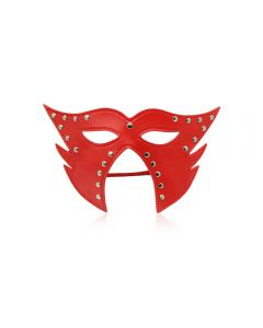Cat Mask Open Mouth Red