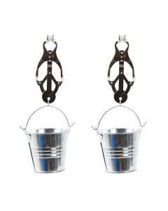 Clover Nipple Clamps with Buckets