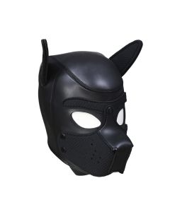 Neoprene Puppy Dog BDSM Hood L