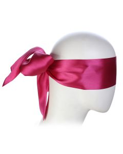 Rose Blindfold Satin Look