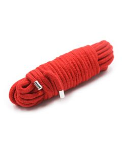 20 Meter BDSM Cotton Rope Red